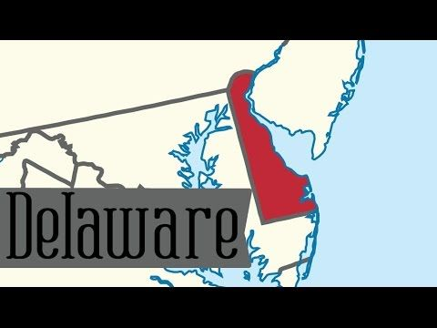 Two Minute Tour of Delaware: 50 States for Kids - FreeSchool - YouTube