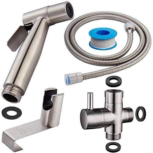 Loke Handheld Bidet Sprayer For Toilet Cloth Diaper Sprayer With Anti Leaking Hose Multifunction Shower Shattaf Sho In 2020 Bidet Sprayer Bidet Diaper Sprayer