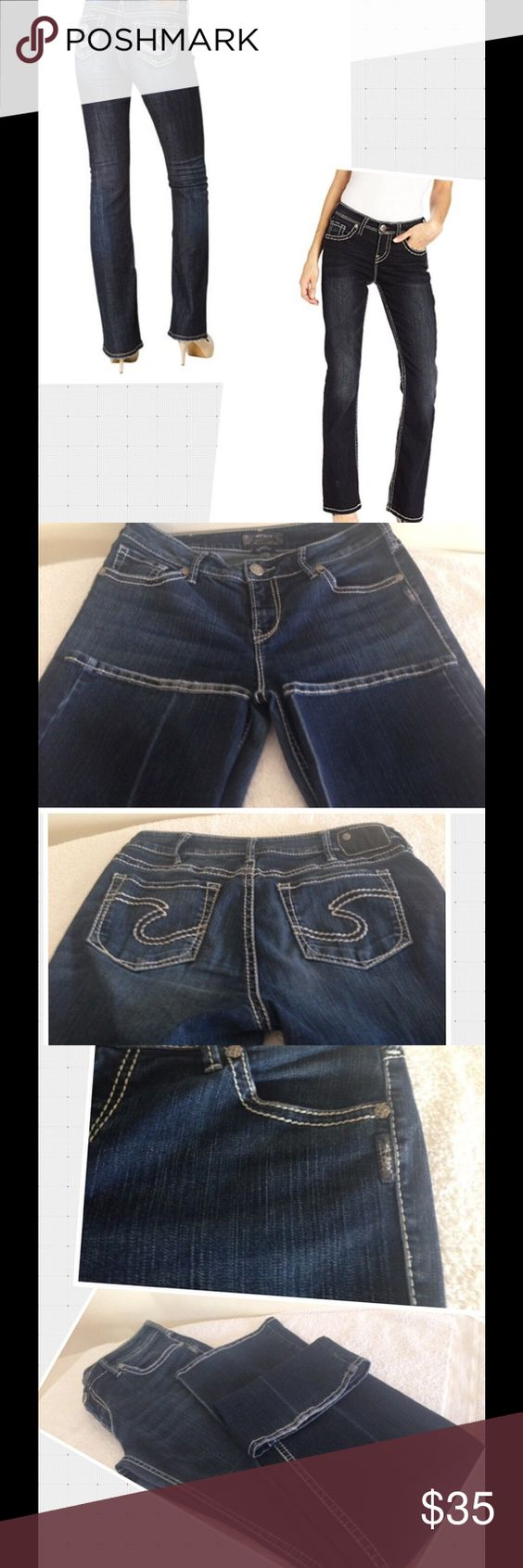 Natsuki Silver Jeans Co., boot cut Jeans Size 32