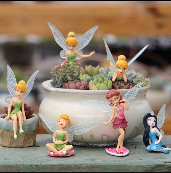 fairy houses in a flower pot kids - Google Search
