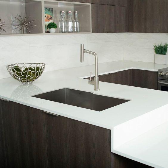 Dax Handmade Single Bowl Undermount Kitchen Sink 16 Gauge Stainless Steel Brushed Finish 34 X 20 X 10 Inches Dax Sq 3420f Sink Kitchen Fixtures Apron Sink Kitchen