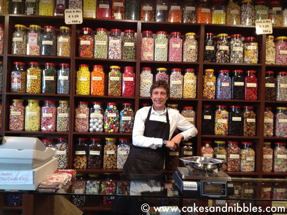 C & N Travel (2013): Killarney, Ireland - How adorable is this guy at Mr. Mcguire's Olde Sweets Shop