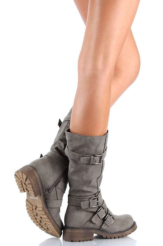 Wish I had outfits that would go with boots. I dig these.