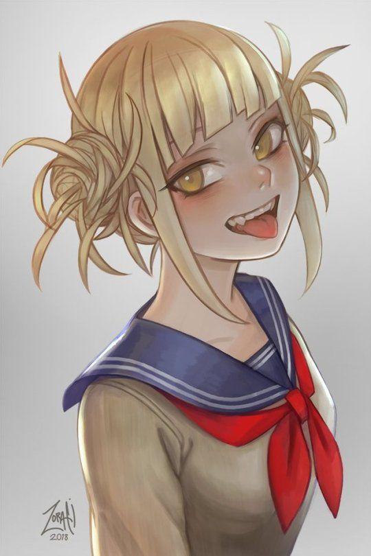 Boku No Hero Academia Himiko Toga Toga Anime Villians Anime Characters