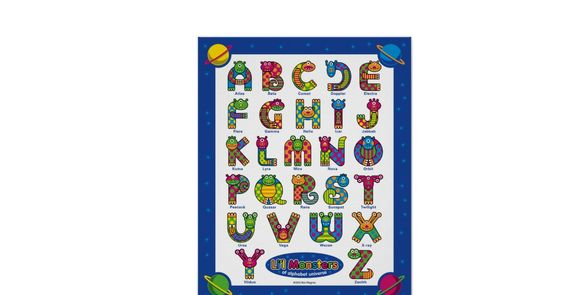 Monstruos de Li'l del universo del alfabeto Posters