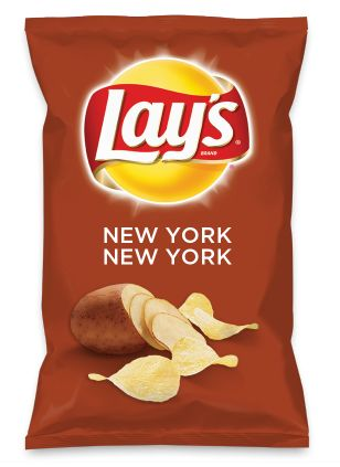 Wouldn't NEW YORK NEW YORK be yummy as a chip? Lay's Do Us A Flavor is back, and the search is on for the yummiest flavor idea. Create a flavor, choose a chip and you could win $1 million! https://www.dousaflavor.com See Rules.