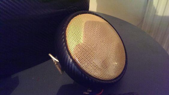 Flyeye gold headlight film - completely road legal! Genius stuff.
