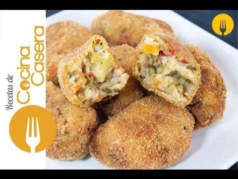 Croquetas De Verduras Recetas De Cocina Casera Recetas