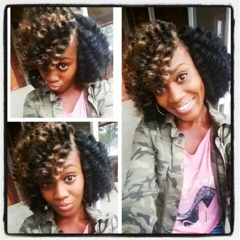 ... crochet braids for the hair style d crochet twist outs kinky hair