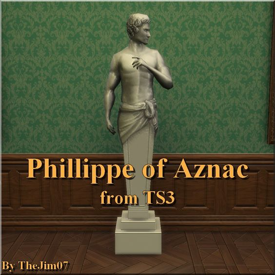 Mod The Sims - Phillippe of Aznac from TS3