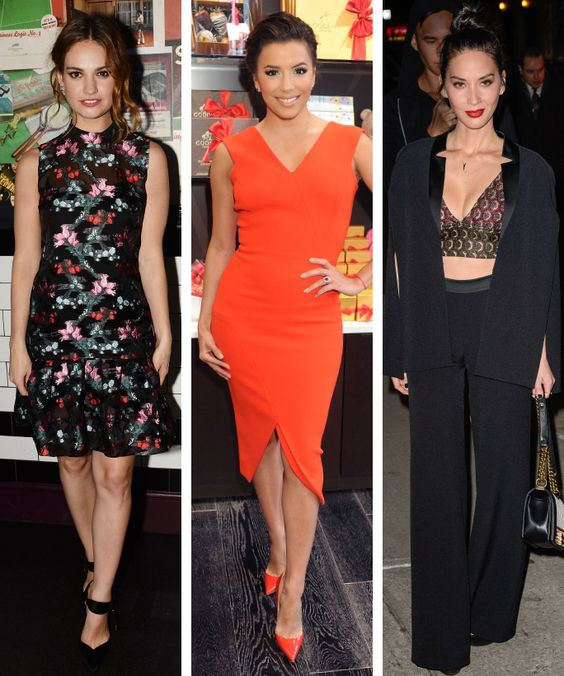 5 Totally Easy Celebrity-Inspired Outfits to Wear on Date Night from InStyle.com