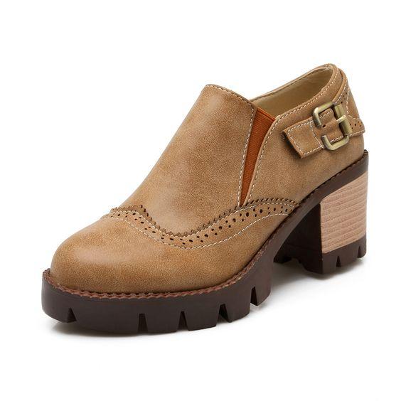 Cool Casual Platform Shoes