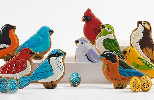 Eleni's New York - Beautiful Bird Cookies