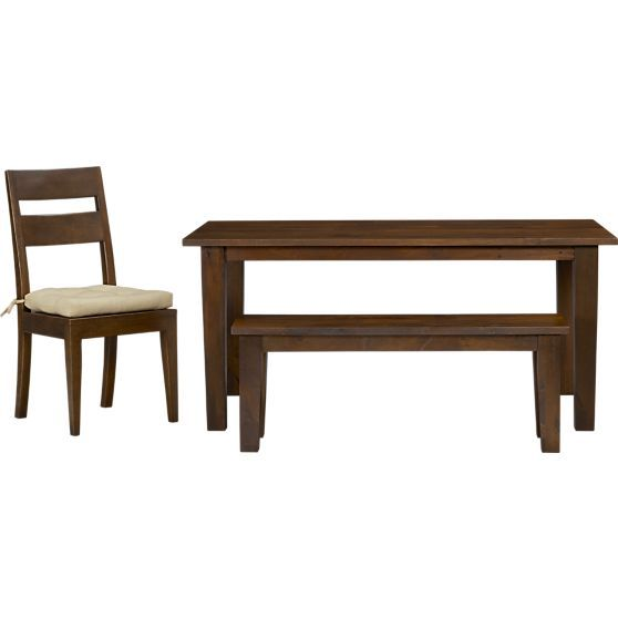 """Basque Honey 65"""" Dining Table in Dining Tables 