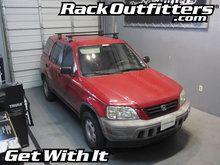 Honda CR-V Thule Traverse Square Bar Base Roof Rack