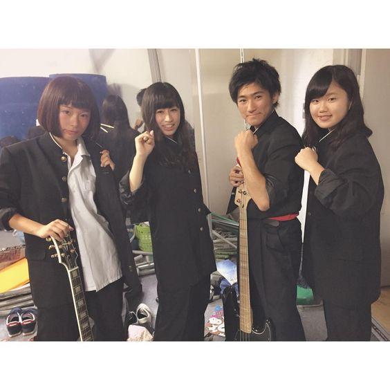 「学ランでバンドかなりアオハルできた!! #中京 #文化祭 #バンド #アオハライド」