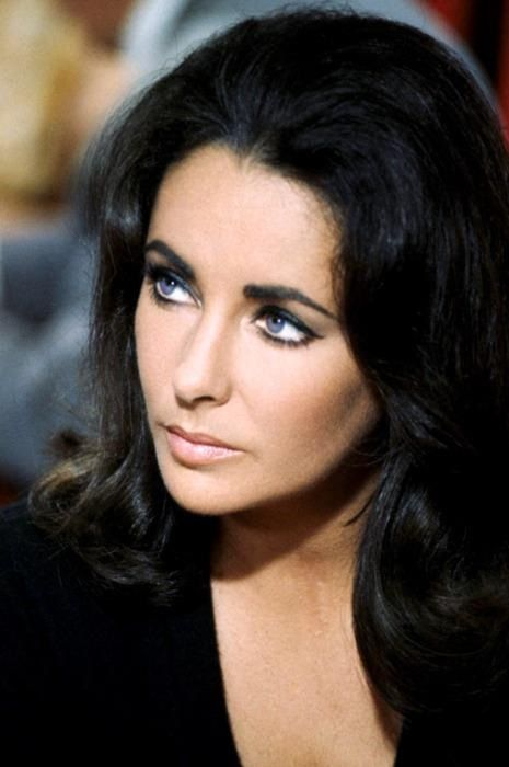 Elizabeth Taylor. I know a lot of people wonder what her eyes actually looked…