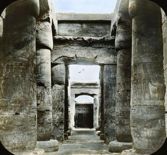 Fascinantes fotos coloreadas de Egipto a finales del siglo XIX