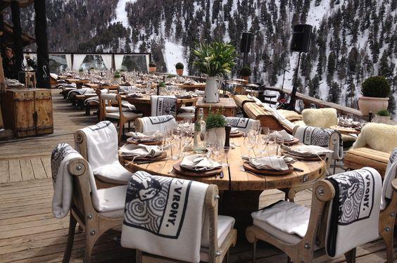 Chez Vrony is one of the best restaurants in Zermatt, overlooking the glorious Matterhorn Mountain.