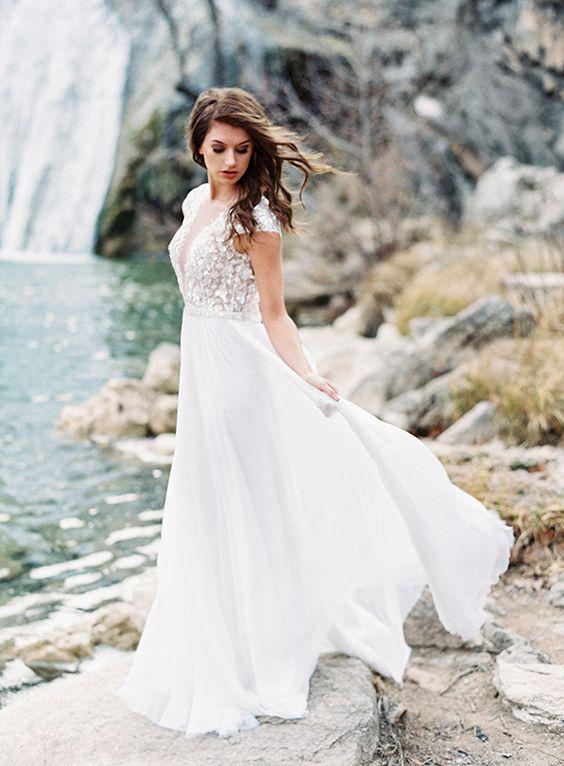 Elegant Waterfall Editorial