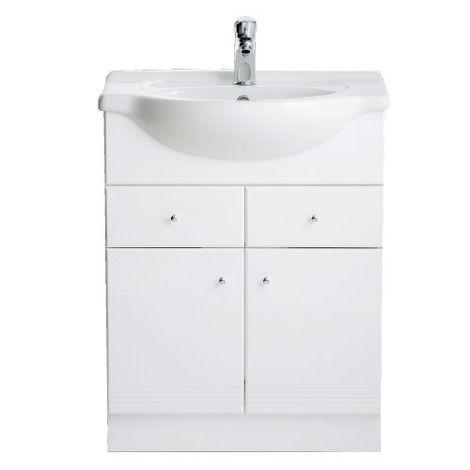 New Polo 660 Ceramic Basin And Vanity Unit Bathstore