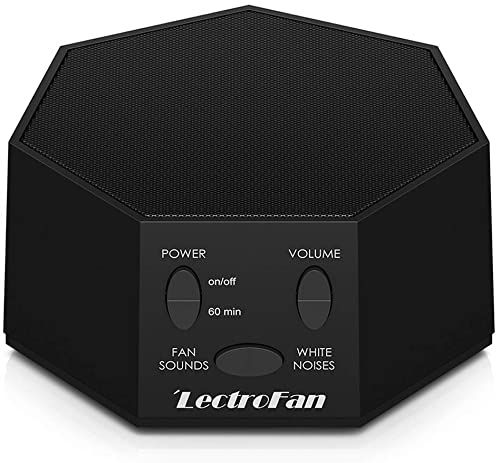New Lectrofan High Fidelity White Noise Machine 20 Unique Non Looping Fan White Noise Sounds Sleep Timer Global Power Edition Online Shopping In 2020 White Noise Sound Sleep Timer Neck Roll Pillow