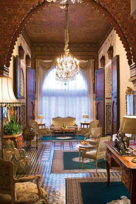 Sofitel Palais Jamai Fes Turkish Decor Oriental Interior Moroccan Interiors