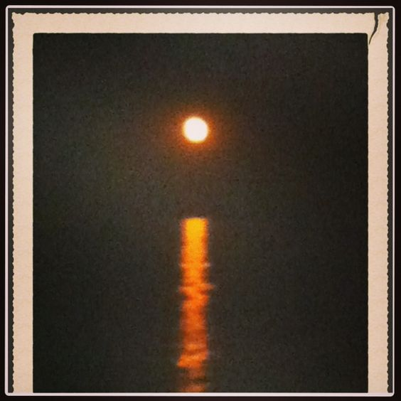 Moon over LBI
