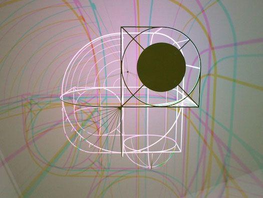 CMYK Lamp by Dennis Parren