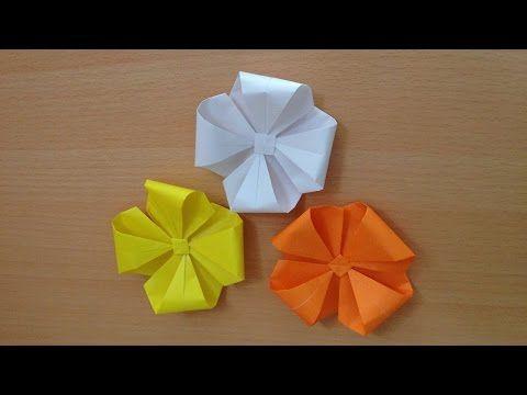 クリスマス 折り紙 簡単な折り紙 花 : pinterest.com