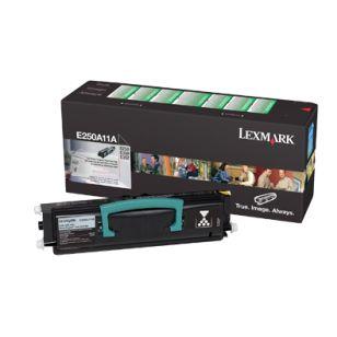 Lexmark E250A11A Orginal Black Toner Cartridge. http://planettoner.com/lexmark/lexmark-e250a11a-orginal-black-toner-cartridge