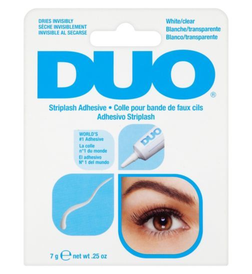 DUO Striplash Adhesive white clear 7g - Boots