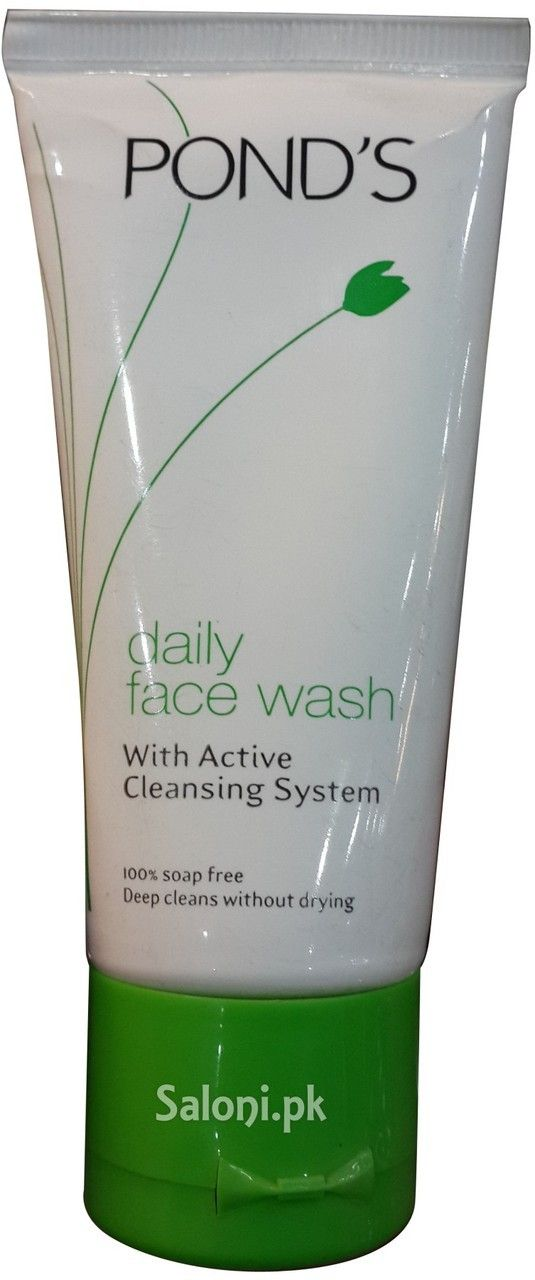 POND'S DAILY FACE WASH WITH ACTIVE CLEANSING SYSTEM Saloni™ Health