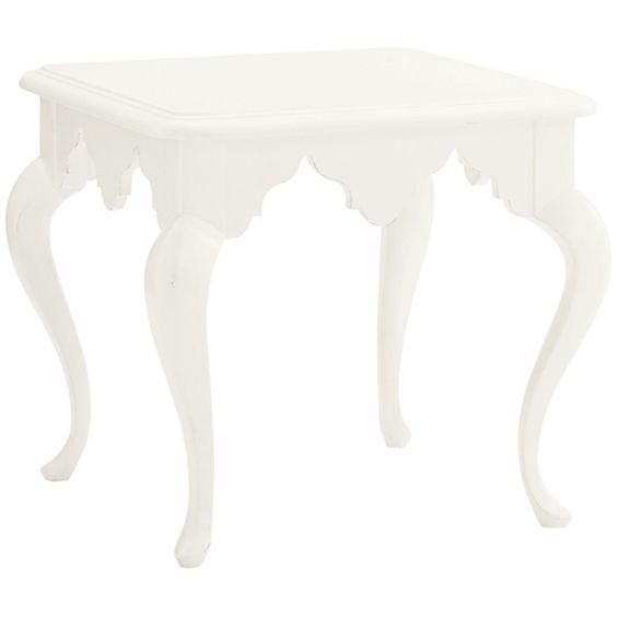 Lexington Ivory Key Cumberland Square Lamp Table 543-953