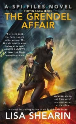 THE GRENDEL AFFAIR by Lisa Shearin 4 bats review by Kate of ALL THINGS URBAN FANTASY