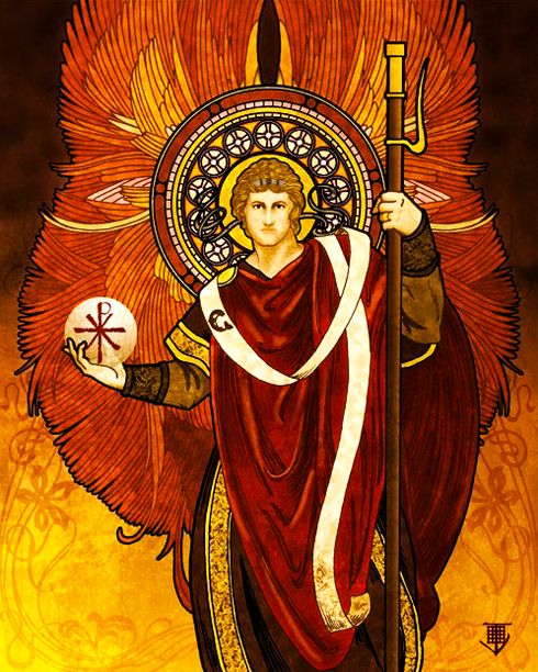 One Of The Seven Archangels Who Stand Before God's Throne