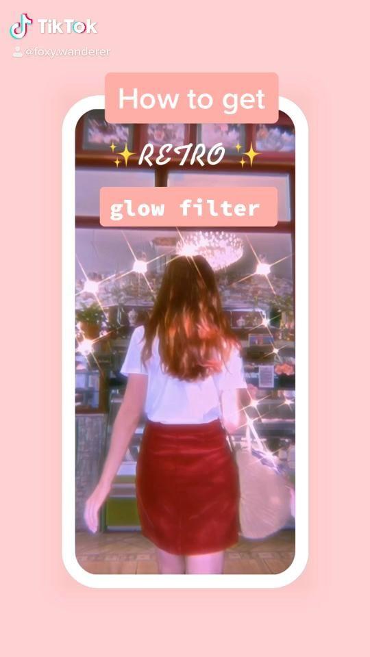Video How To Get Retro Glow Filter Editing Tutorial All Prequel Pengeditan Fotografi Filter Pose Fotografi
