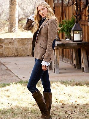 lara harris tweed jacket - jackets - women - Gorsuch | Women's ...
