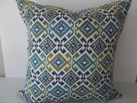 Diamond shapes, Spas and Decorative pillow covers on Pinterest