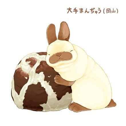 Twitter うさぎ イラスト かわいい バニー アート ウサギのイラスト