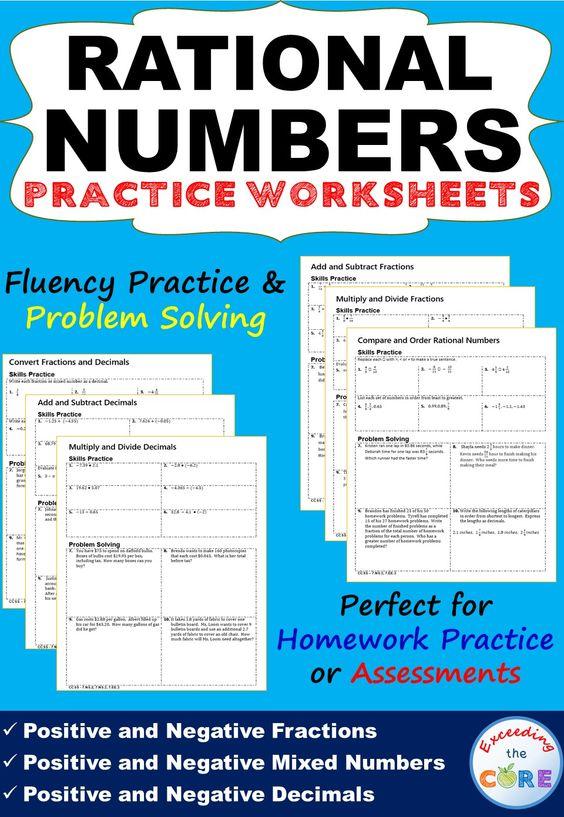 ordering numbers homework