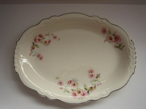 Vintage 1945 Homer Laughlin Virginia Rose - these Homer Laughlin dishes were my mother and grandmother's pattern. I thought they were just beautiful as a little girl and still do.