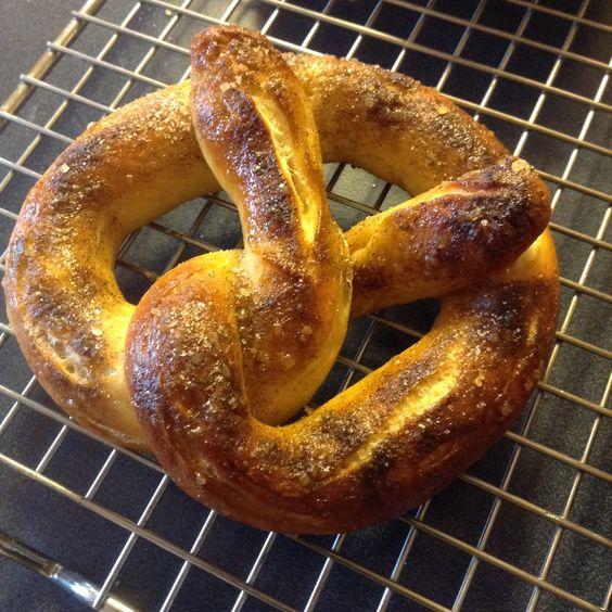 ... treehouse treats and more soft pretzels pretzels cinnamon sugar