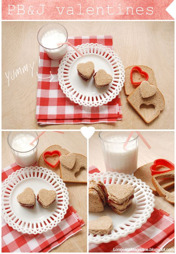 """easy way to """"heart"""" lunch"""