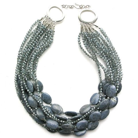 An Occasional Sparkle necklace by Elva Fields