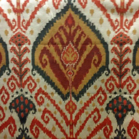 sojourn ikat spice home decor fabric by pkaufmann 52404 buy fabrics