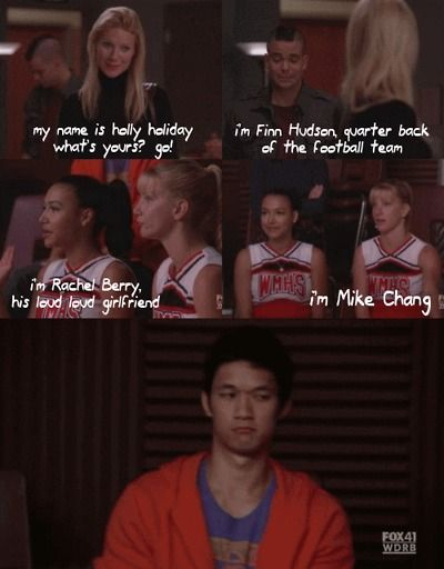 I love their impressions. And Mike's face. I want holiday as a teacher. Seriously.