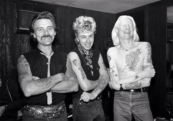 Dickey Betts, Brian Setzer & Johnny Winter