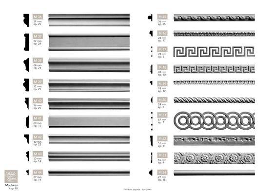 moulures en staff pl tre r sine et stucco fabrication moulures auberlet et laurent. Black Bedroom Furniture Sets. Home Design Ideas