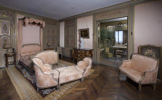 Musée Jacquemart-André. Chambre de Monsieur